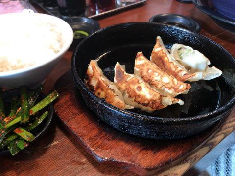 トロ肉ラーメン 二代目五山 鉄板餃子