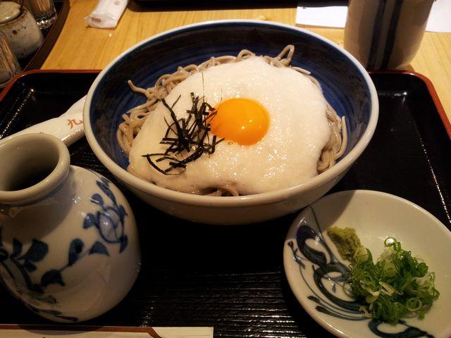 甚九郎 山かけ蕎麦