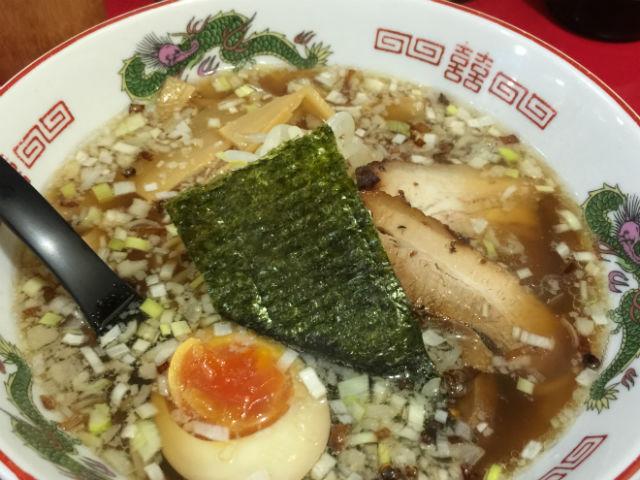 京橋 ササラの醤油ラーメン