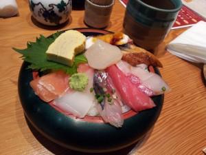 山さん寿司 朝丼